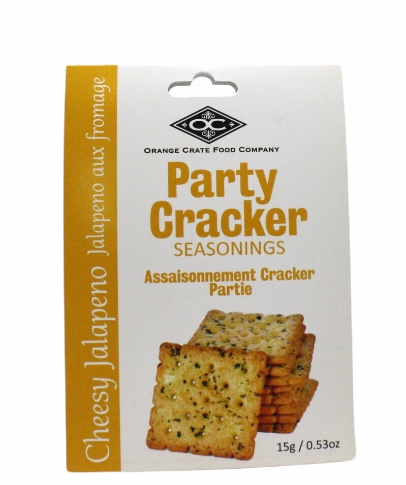 Delicious Party Cracker Seasoning - Cheesy Jalapeno