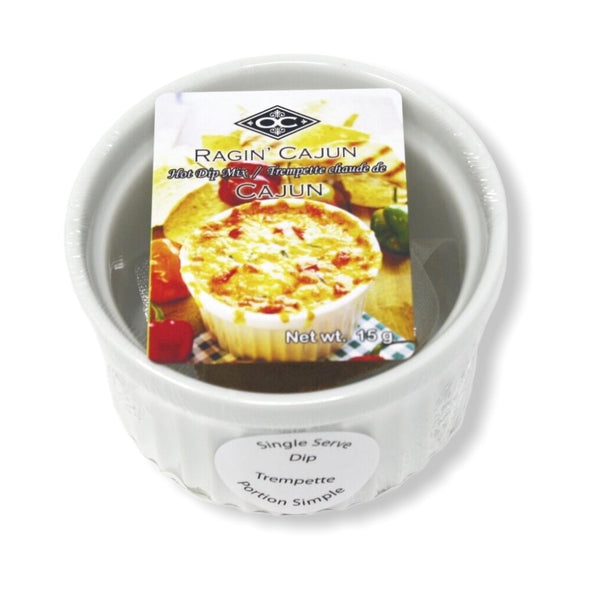 Single Serve Ramekin Hot Dip - Ragin Cajun