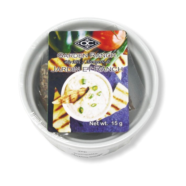 Single Serve Ramekin Cold Dip - Garden Ranch