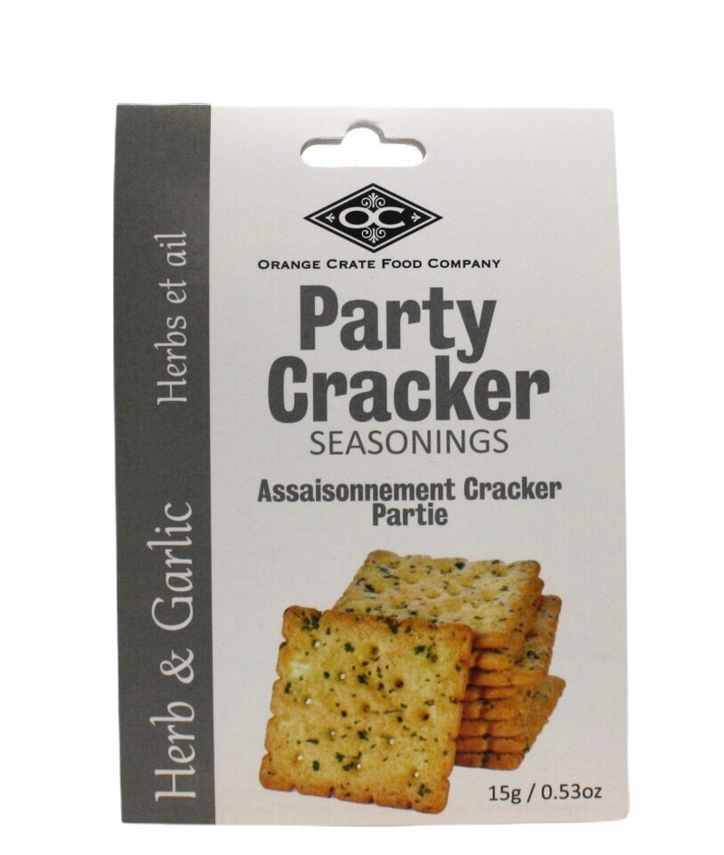 Delicious Party Cracker Seasoning - Herb & Garlic