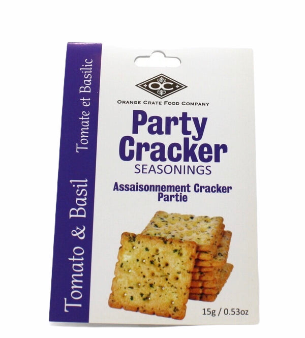 Delicious Party Cracker Seasoning - Tomato Basil