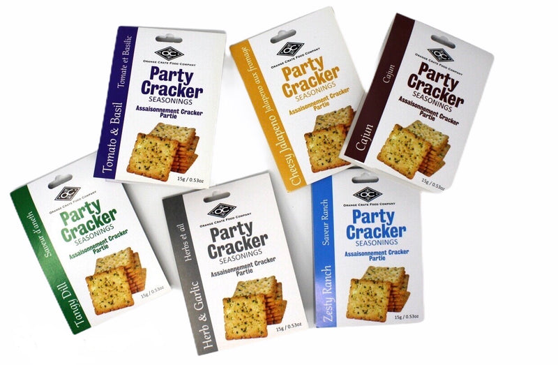 Delicious Party Cracker Seasoning - Zesty Ranch