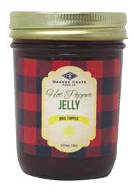 X - Hot Pepper Jelly Brie Topper