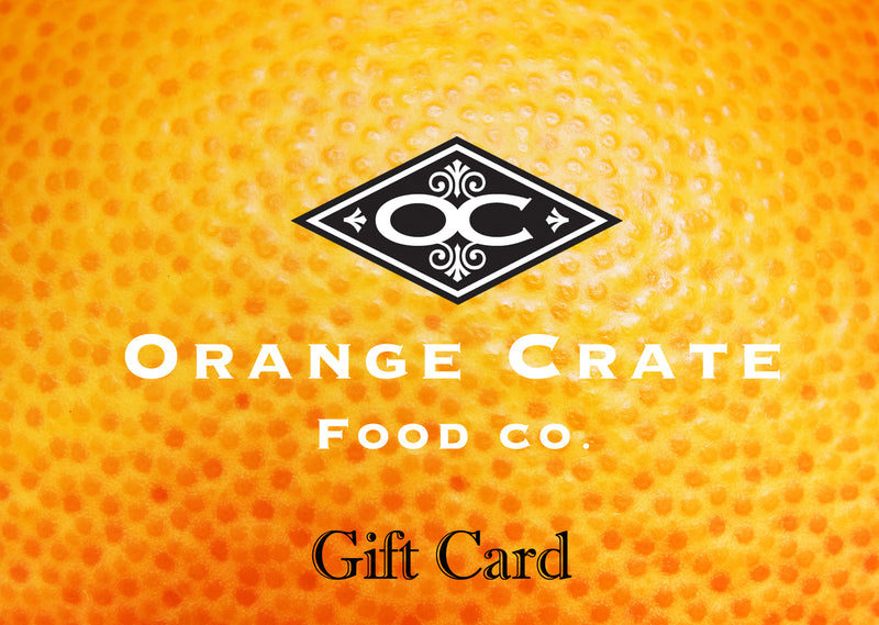 Orange Crate Gift Card