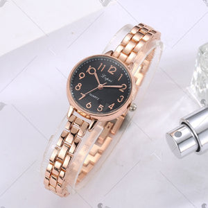 Lvpai P240 Women Students Arabic Numbers Quartz Wrist Watch
