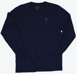 Load image into Gallery viewer, The Imprint Long Sleeve Tee (Navy)