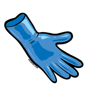 Cerulean Blue V2 Gloves (Wrist Length)