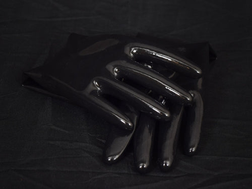 Obsidian Black Gloves (Mid-Arm Length)