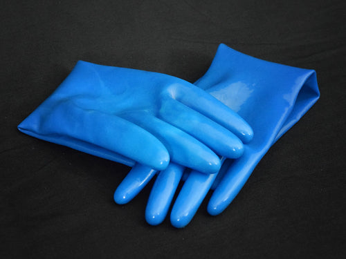 Cerulean Blue V2 Gloves (Mid-Arm Length)
