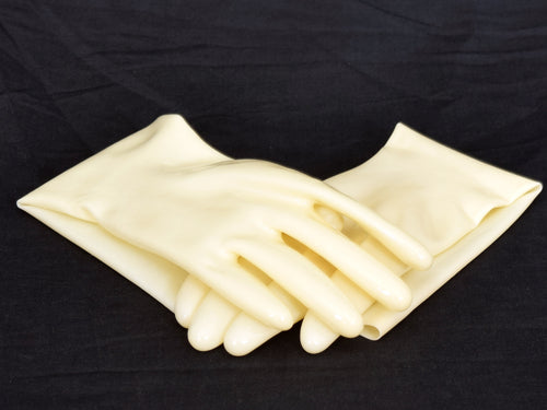 Ivory Gloves (Mid-Arm Length)
