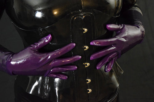 Royal Purple Gloves (Wrist Length)