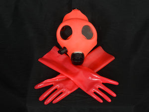 Lava Red Gloves (Wrist Length)