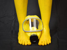 Load image into Gallery viewer, Sunburst Yellow Toe Socks (Knee Length)