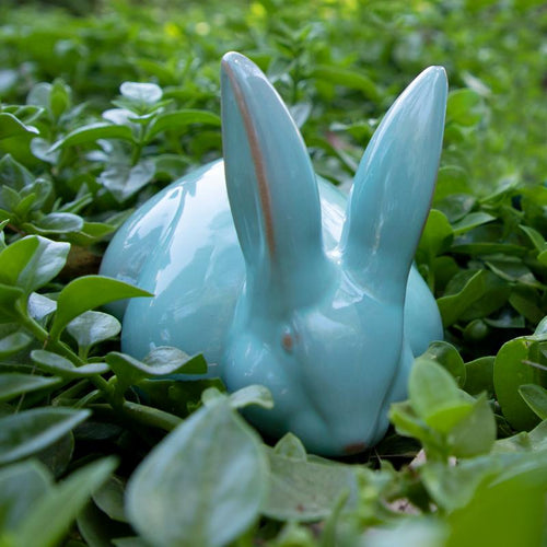 SMALL RABBIT BLUE AQUA