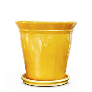 "SET VASO LISO 13"" AMARILLO COLONIAL/1020 AMARILLO COLONIAL"