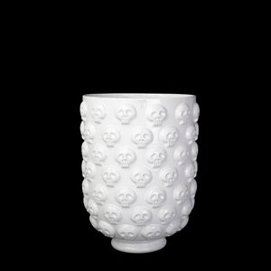LARGE CALAVERA BASE; Crystal White