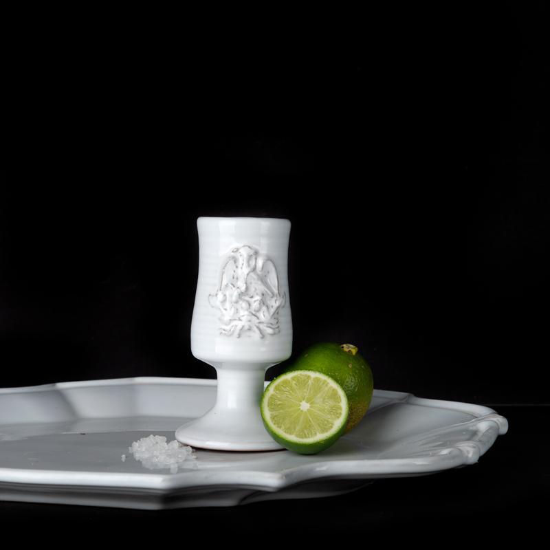 TEQUILA CUP; Crystal White