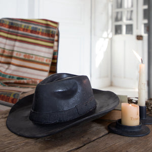CERAMIC HAT; Black Onix