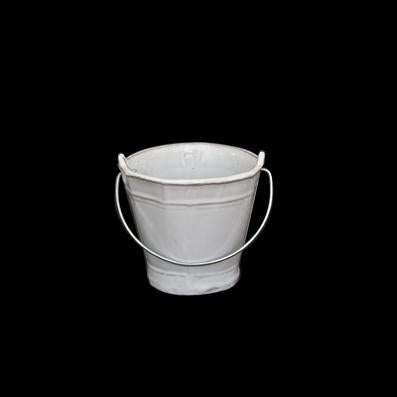 "CACHARRO BUCKET 3"" ; Crystal White"
