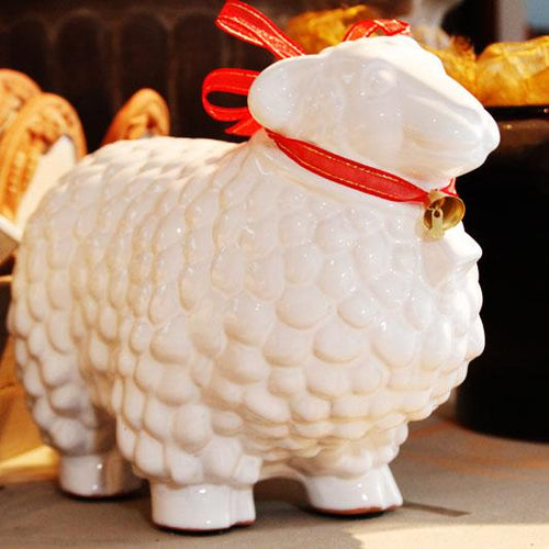 LARGE SHEEP; Crystal White