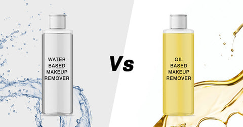 Water based makeup removers vs oil based makeup removers, micellar water