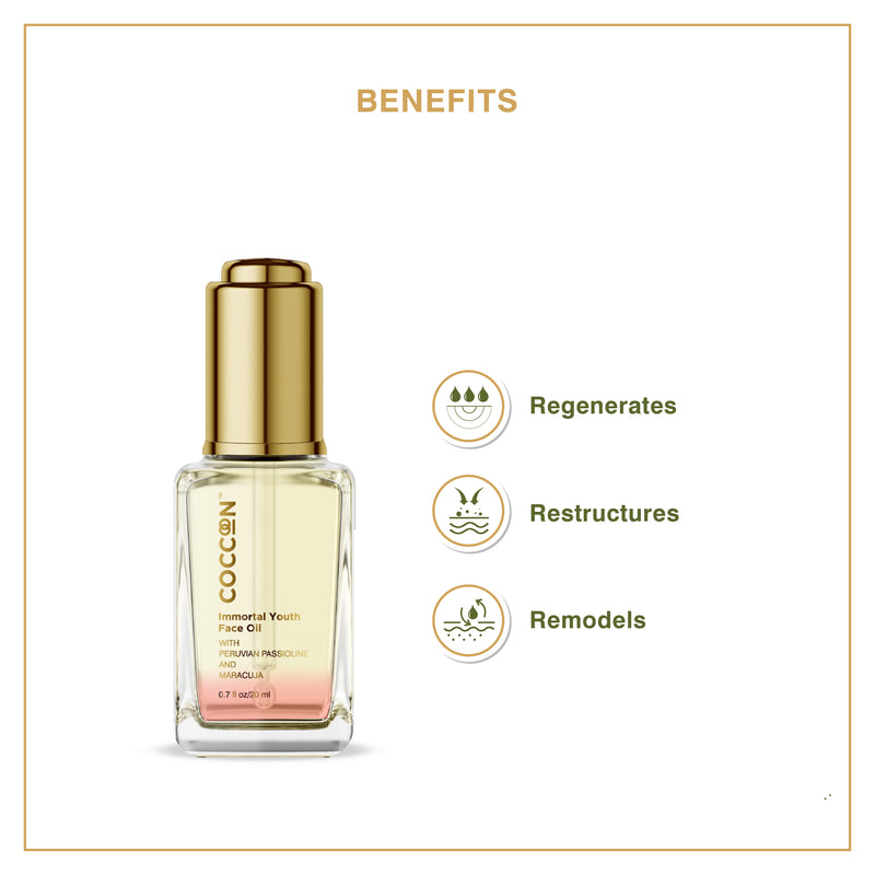 Immortal Youth Face Oil Anti-Ageing Properties