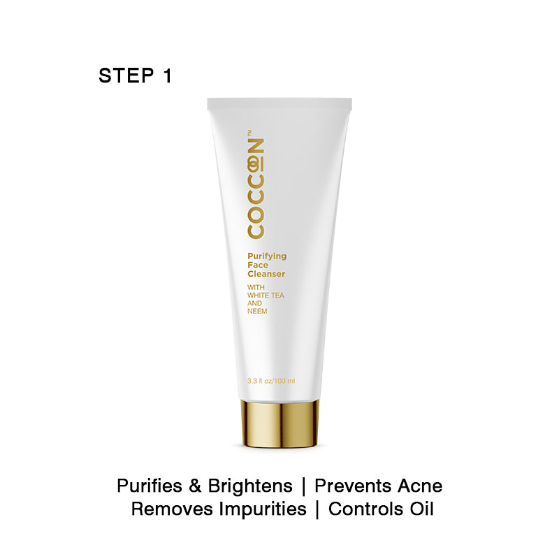 Step 1 - Purifying Face Cleanser Oil Control, Purifies & Brightens, Prevents Acne