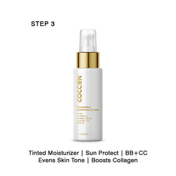 Step 3 - Protective Radiance Cream Tinted Moisturizer with SPF 30, BB + CC Cream