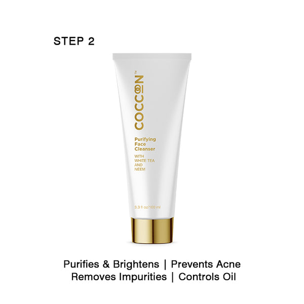 Step 2 - Purifying Face Cleanser Oil Control, Purifies & Brightens, Prevents Acne