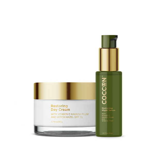 Round the Clock Glow Combo Hydrating Night Serum + Restoring Day Cream