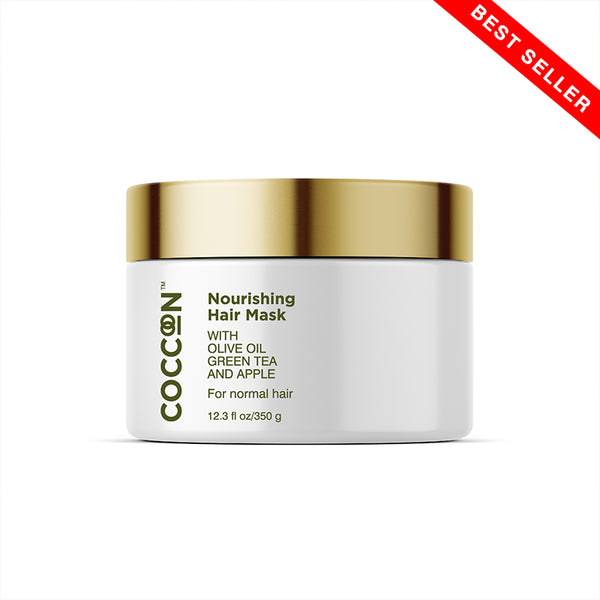 Nourishing Hair Mask Nourishes, Controls Frizz & Restores Shine
