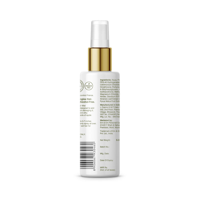 Polishing Hair Mist Adds Shine and Fragrance, Detangles Hair