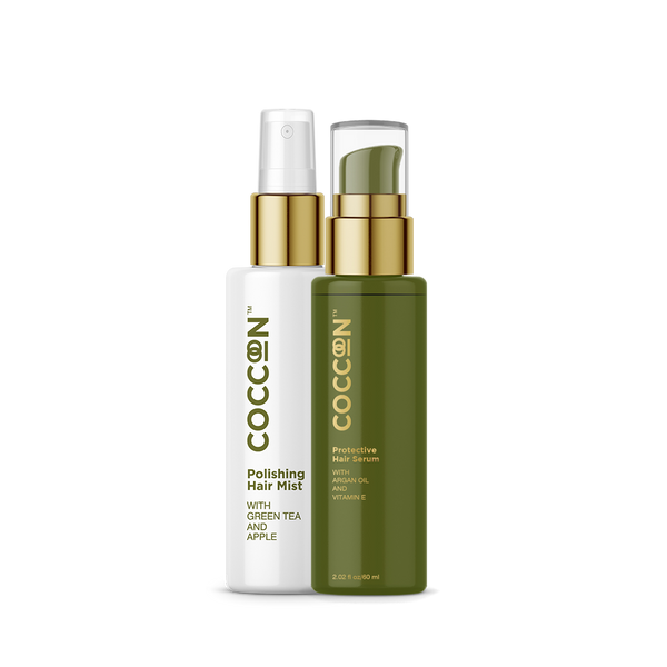 Safe Styling Combo Protective Hair Serum + Polishing Hair Mist