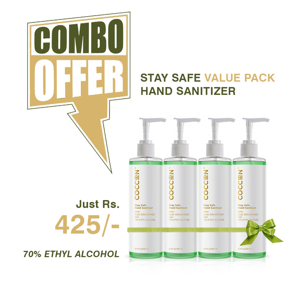 Stay Safe Hand Sanitizer - Value Pack