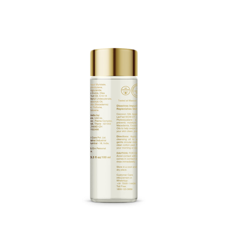Silk Appeal Cleansing Oil Removes Skin Impurities & Restores Skin