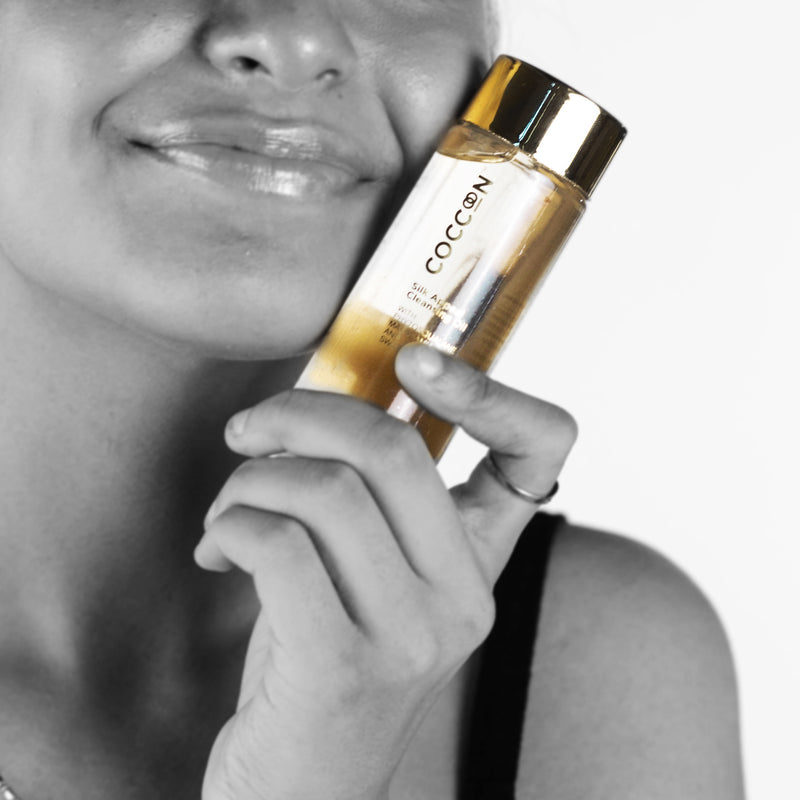 Silk Appeal Cleansing Oil Removes Makeup and Dirt in One Swipe and Prevents Acne