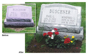 Headstone Cleaning Service
