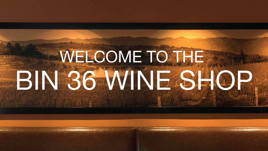Welcome to the BIN 36 Wine Shop