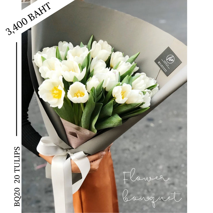 BQ20 20 TULIPS - Flowers & Gifts by Heart Is