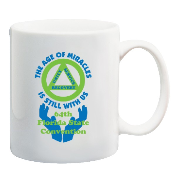 11oz. Coffee Mug with Logo