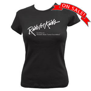 RFK Women's Fitted T Black