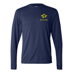 STARRY NIGHT Navy Augusta Longsleeve Performance T-shirt - 788