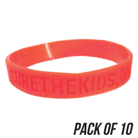 RFK Silicone Bracelet - Pack of 10