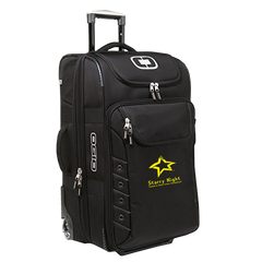 STARRY NIGHT Black/Silver OGIO Canberra 26 Travel Bag.