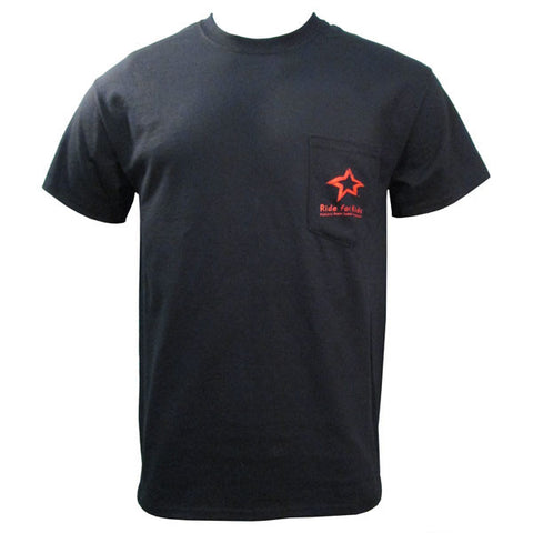 RFK Logo Men's Pocket T - Black W/ Red