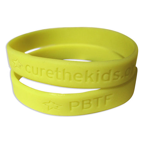 PBTF Glow in the Dark Silicone Bracelet - Pack of 10