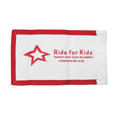RFK Motorcycle Flag - Red/White