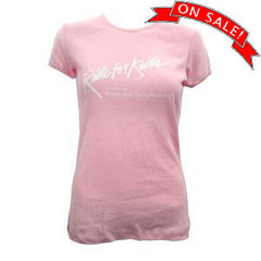 RFK Women's Fitted T Pink