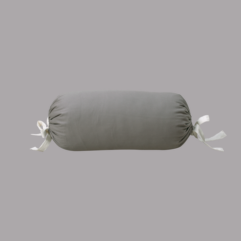 Yoga Bolster Cylindre Gris