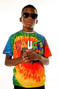 Sauced Up Tie-Dye T-Shirt